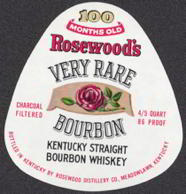 #ZLW100 - Rosewood's Bourbon Whiskey Label
