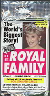 #ZZA028 - 1993 Pack of Royal Family Trading Cards