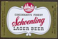 #ZLBE044 - Schoenling Lager Beer Label