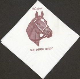#BA051 - Secretariat Napkin