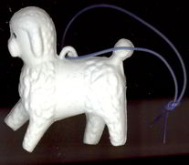 #TY299 - Lamb Dangler Toy