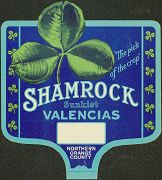 #SIGN002 - Sunkist Shamrock Valencias Sign