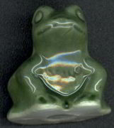 #MS147 - Glazed Chalkware Frog