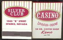 #TM088 - Silver Club Casino Front Cover Striker Match Pack