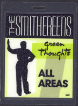 #MUSIC503 - 1988 The Smithereens laminated backstage pass from the Green Thoughts Tour