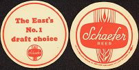 #SP011 - Schaefer Beer Coaster