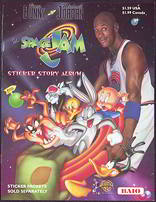 #ZZA161 - Michael Jordan Space Jam Sticker Story Album