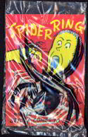#HH098 - Huge Rubber Spider Ring on Amazing Header Card