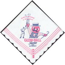 #SOZ037 -  Squirt Glow-Ball Advertising Napkin