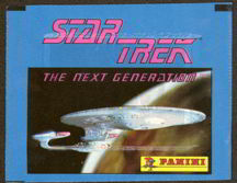 #ZZA092 - Pack of Panini Star Trek The Next Generation Stickers