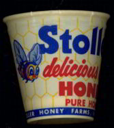 #CS156 - Stoller's Honey Sample Cup with Lid