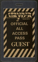 #MUSIC483 - 1987 Stryper Laminated Backstage Pass from the To Hell with the Devil Tour