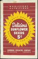 #CS148 - Sunflower Seed 5¢ Snack Bag