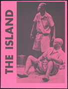 #ZZB036- Very Rare Souvenir Program for The Island and Sizwe Banzi is Dead