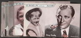 #ZZA114 - Complete 16 Card Exhibit Supply Then and Now Male Movie Star Cards