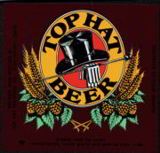 #ZLBE032 - Top Hat Beer Label