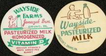 #DC040 - Wayside Farms Milk Cap Picturing Baby with Giant Bottle