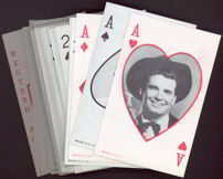 #ZZA112 Exhibit Supply Playing Card Cowboy Card (price is per card)