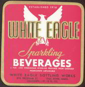#ZLS097 - White Eagle Beverage Soda Label