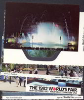#ZZZ037 - Six Different World&#39;s Fair Postcards