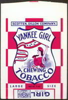 #TOP019 - Yankee Girl Chewing Tobacco Bag