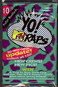 #ZZA039 - 1991 Yo! MTV Raps Pack of Music Trading Cards