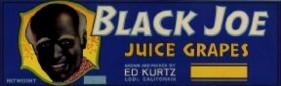 #ZLSG031 - Black Joe Grape Crate Label