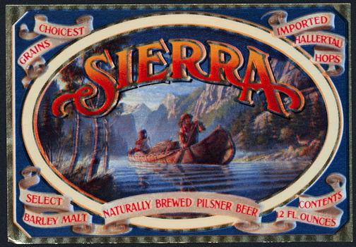#ZLBE102 - Group of 100 Sierra Beer Labels