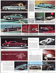 #CA144 - 1966 Oldsmobile Foldout Brochure