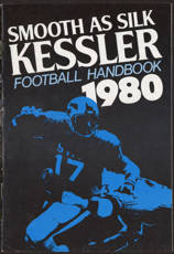 #BA086 - Kessler Whiskey 1980 pro Football Calendar and Handbook