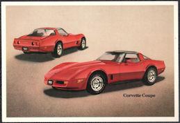 #CA525 - 1981 Chevrolet Corvette Coupe Dealer Postcard