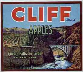 #ZLC017 - Cliff Apple Crate Label
