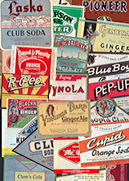 #ZLS001 - Group of 30 Different Desirable Soda Bottle Labels