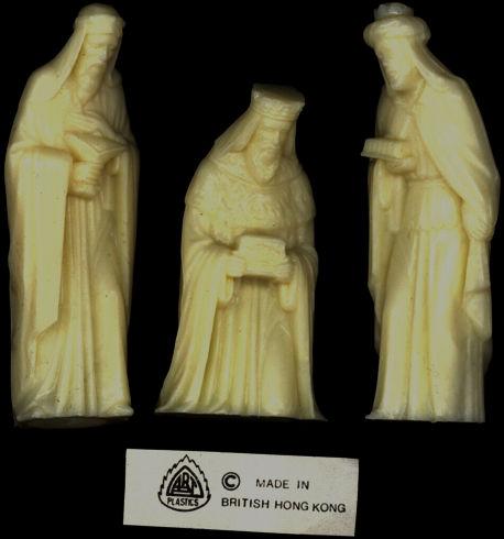#HH148 - Set of Three Kings Christmas Figures