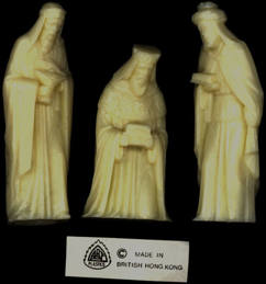 #HH148 - Set of Three Kings Christmas Figures