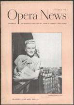 ##MUSICBG0030 - 1940s Opera News Magazine