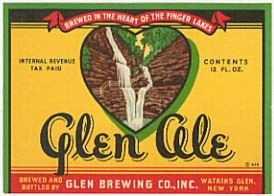 #ZLBE007 - Group of 4 Glen IRTP Ale Labels