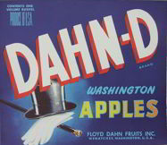 #ZLC190 - DAHN-D Apple Crate Label