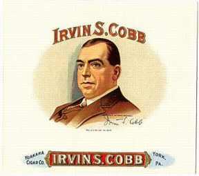#ZLSC002 - Irvin S. Cobb Cigar Box Label