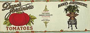 #ZLCA022 - Dana's Jardiniere Tomatoes Can Label