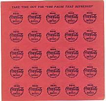 #CC179 - Coca Cola Bingo Marker Card