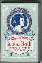 #CS041 - Mirabeau Cocoa Bath Toilet Soap Box