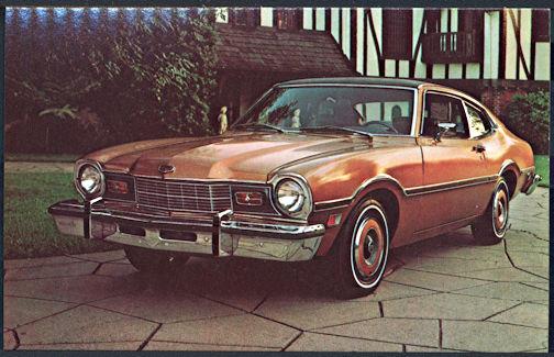 #CA506 - 1975 Mercury Comet (with Custom Option) Advertising Postcard