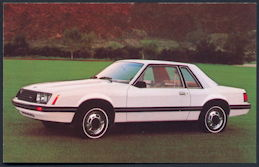 #CA505 - 1979 Ford Mustang with Sport Option Advertising Postcard