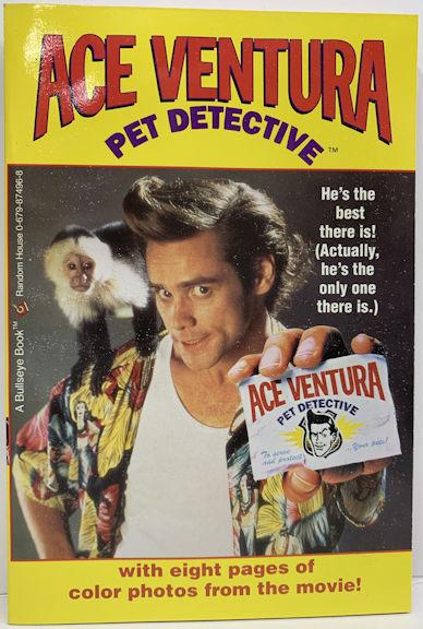 #CH461  - Ace Ventura Pet Detective Book - Jim Carrey
