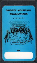 ##MUSICBP0538 - Alabama OTTO Laminated Backstage Pass from the Red Gate Concert on June 26th, 1982
