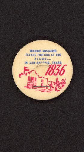 #DC134 - Uncommon Commemorative 1836 Texas Alamo Bottle Cap