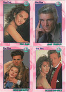#ZZA185 - 1991 Complete 72 Card Set Star Pics All My Children