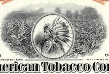 #ZZCE022 - 1950s 100 Share Stock Certificate from The American Tobacco Company