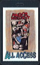 ##MUSICBP0493 - 2000 Anger Management Tour Perri Laminated Backstage Pass